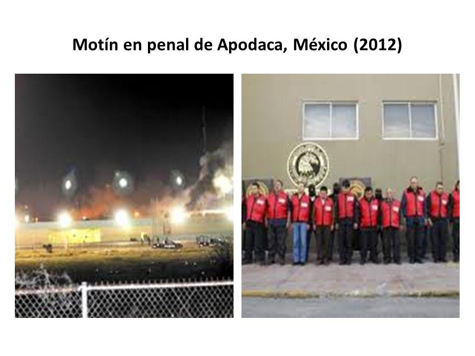 Motín en penal de Apodaca, México (2012)