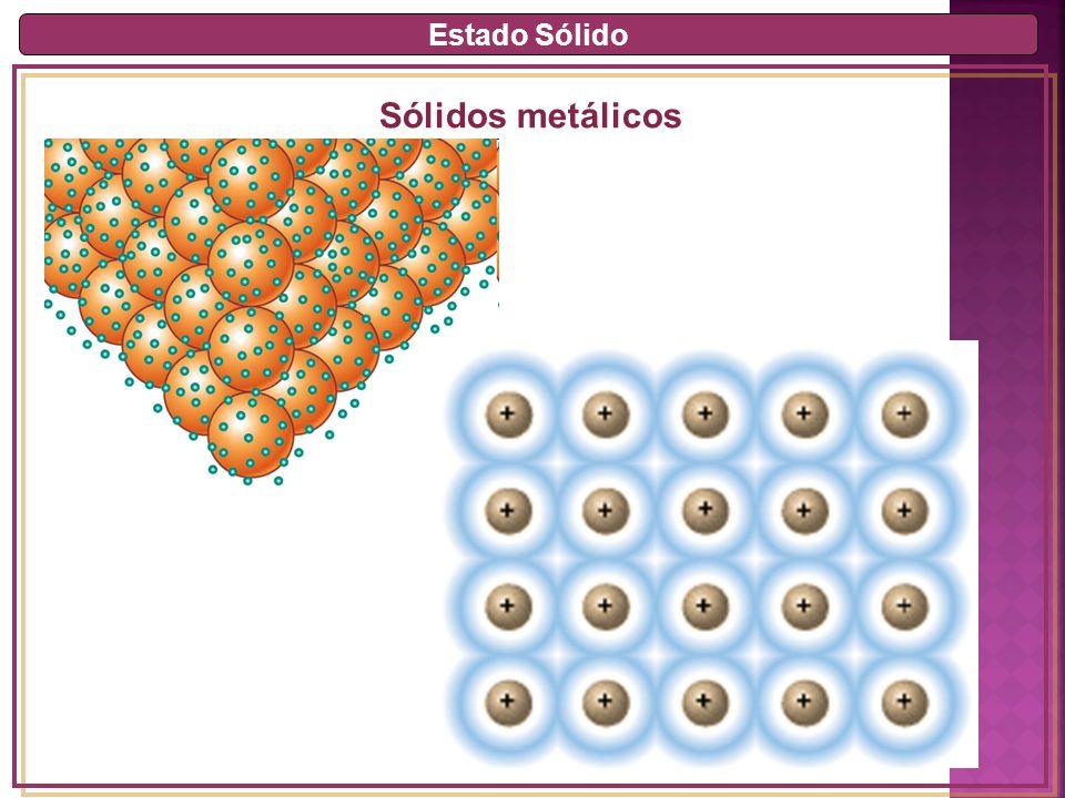 Estado Sólido Sólidos metálicos