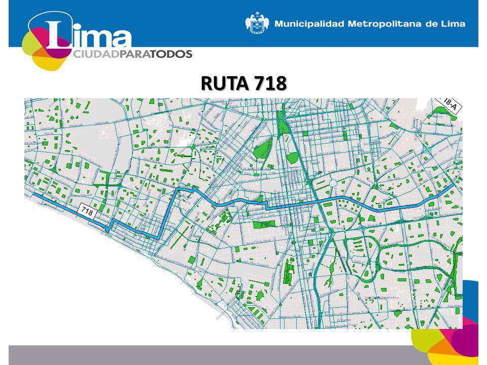 RUTA 718