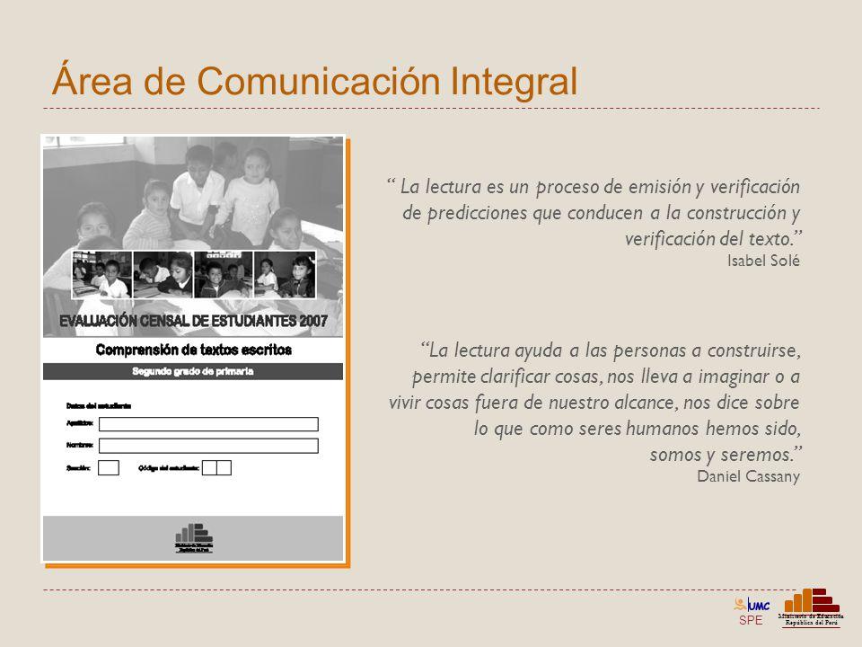 Área de Comunicación Integral