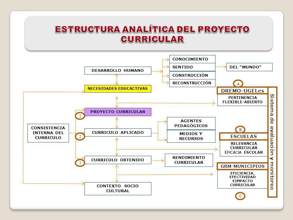 ESTRUCTURA ANALÍTICA DEL PROYECTO CURRICULAR