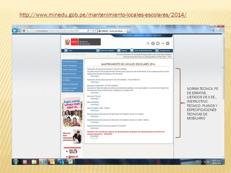 http://www.minedu.gob.pe/mantenimiento-locales-escolares/2014/