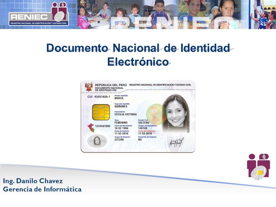 Documento Nacional de Identidad Electrónico