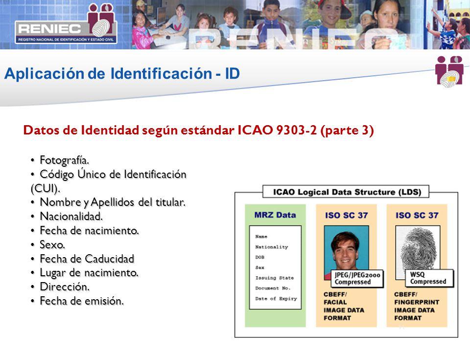 Aplicación de Identificación - ID