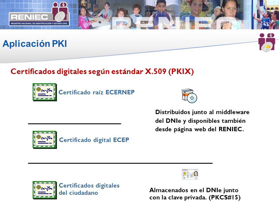 Certificado raíz ECERNEP Certificado digital ECEP