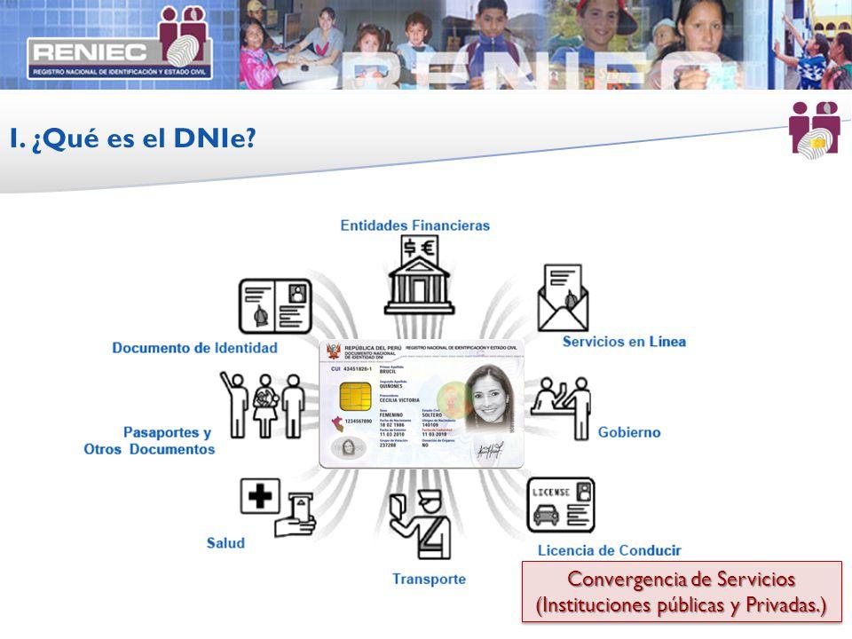 I. ¿Qué es el DNIe Convergencia de Servicios