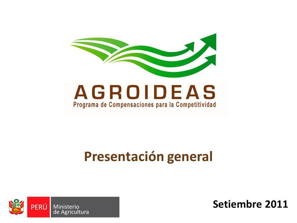 Presentación general Setiembre 2011