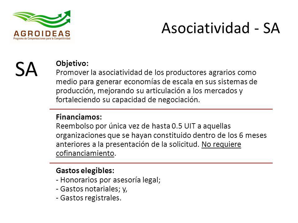 Asociatividad - SA SA.