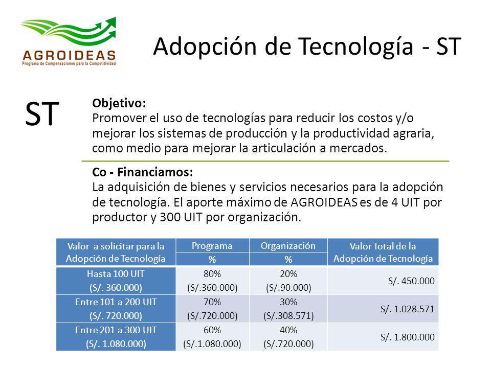 Adopción de Tecnología - ST