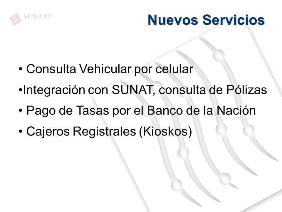 Nuevos Servicios Consulta Vehicular por celular
