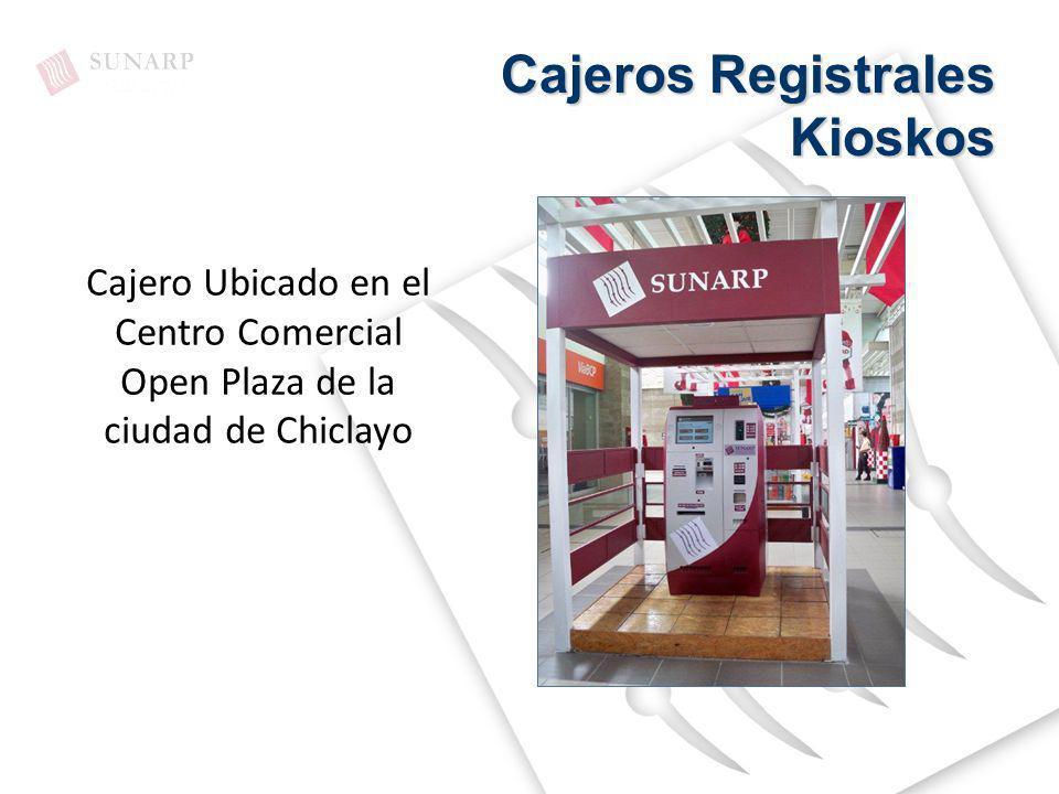Cajeros Registrales Kioskos