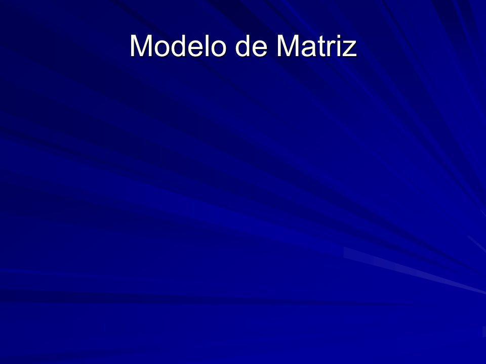 Modelo de Matriz