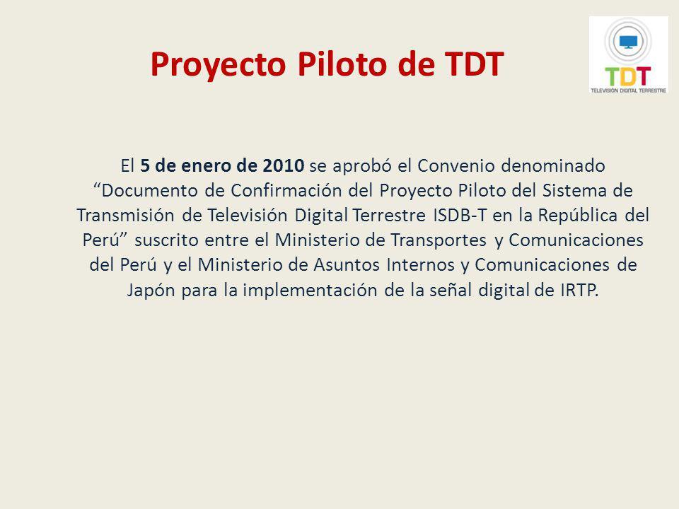 Proyecto Piloto de TDT