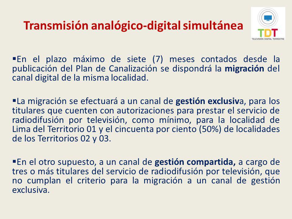Transmisión analógico-digital simultánea