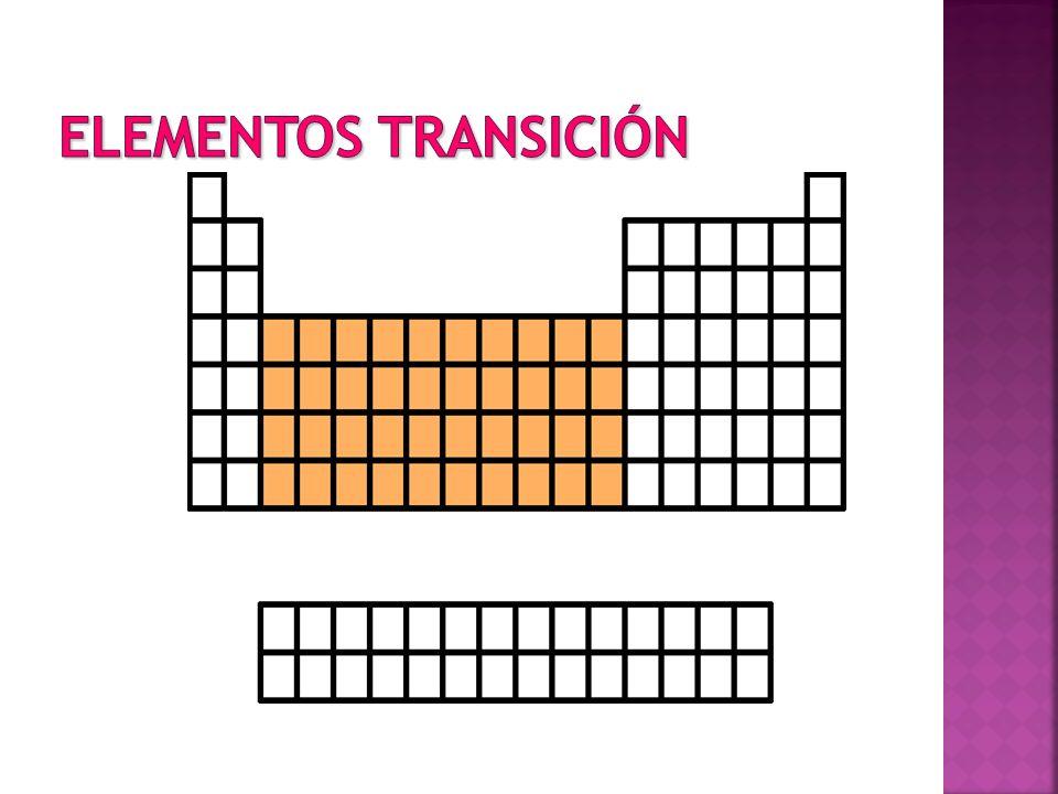 Elementos Transición