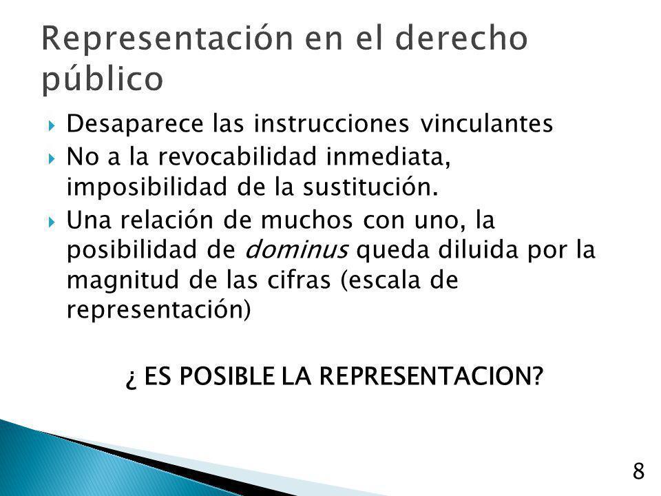 Representación en el derecho público