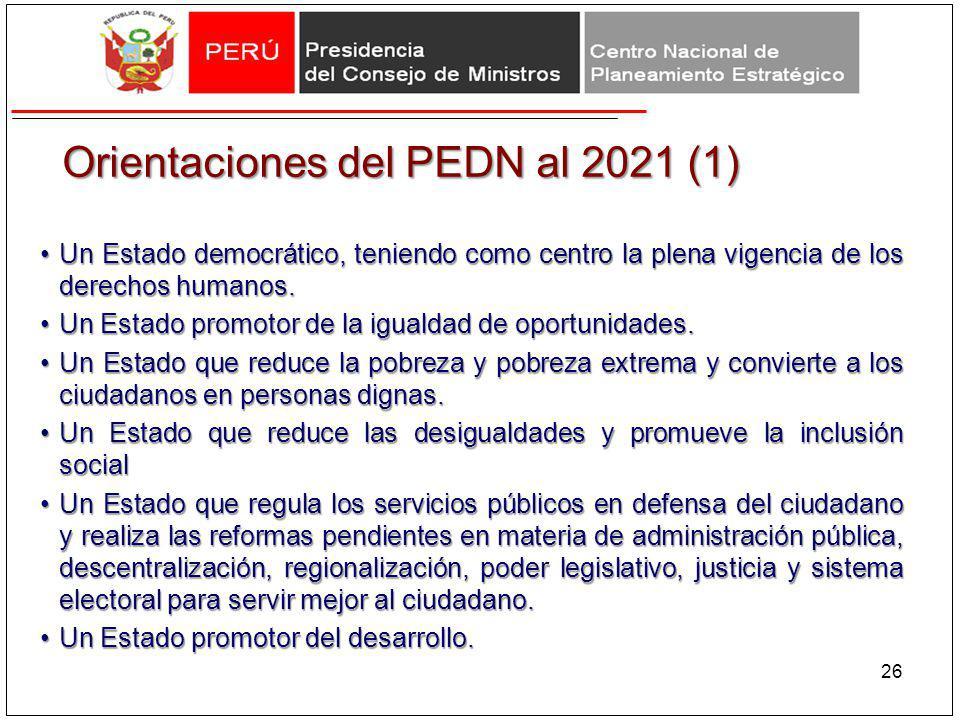 Orientaciones del PEDN al 2021 (1)