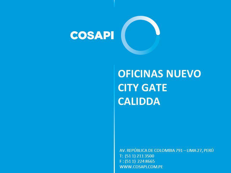 OFICINAS NUEVO CITY GATE CALIDDA