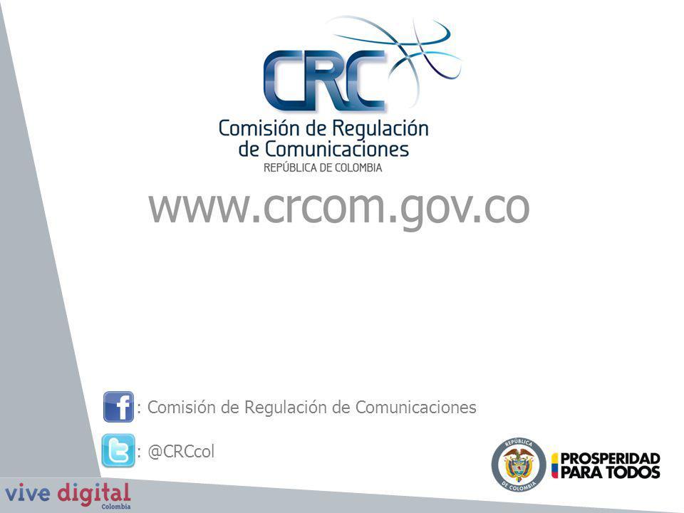 : Comisión de Regulación de Comunicaciones