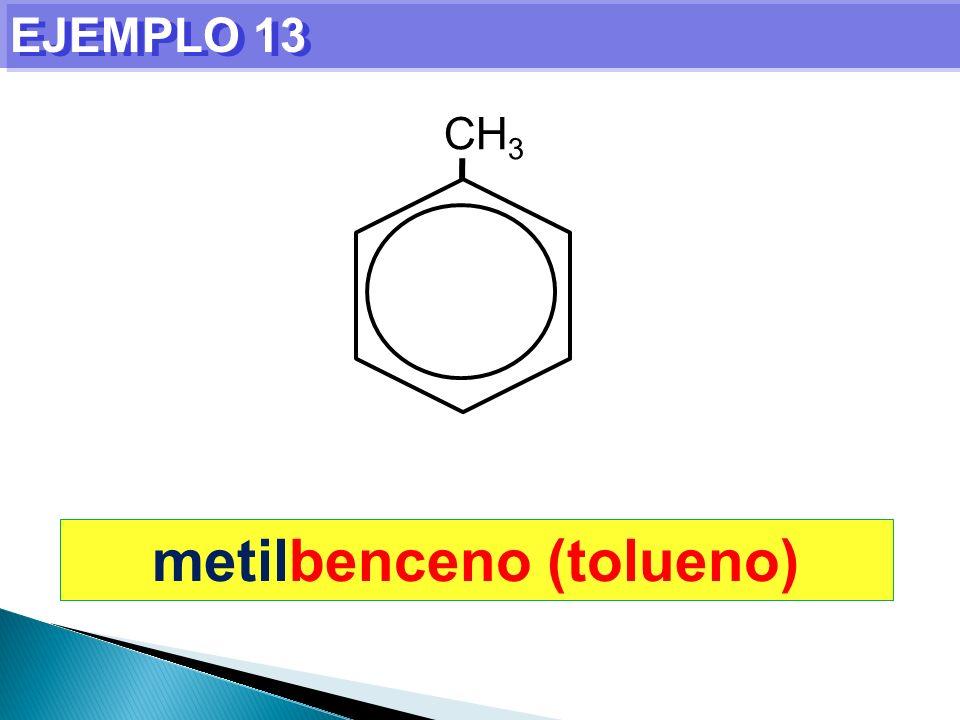 metilbenceno (tolueno)