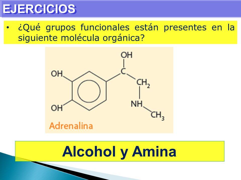 Alcohol y Amina EJERCICIOS