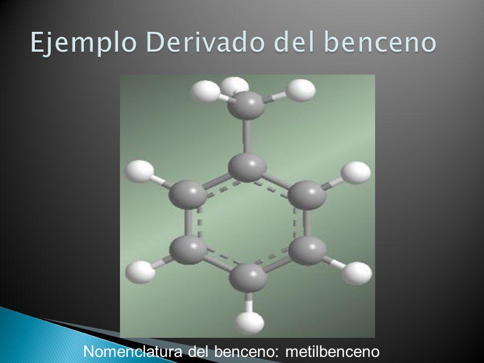 Ejemplo Derivado del benceno