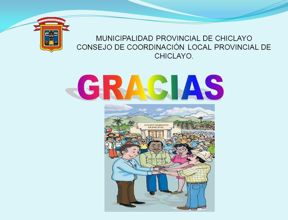 GRACIAS MUNICIPALIDAD PROVINCIAL DE CHICLAYO