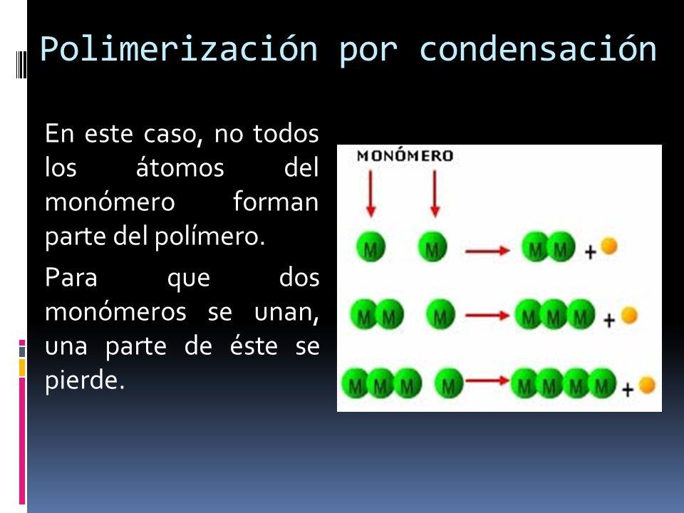 Polimerización por condensación
