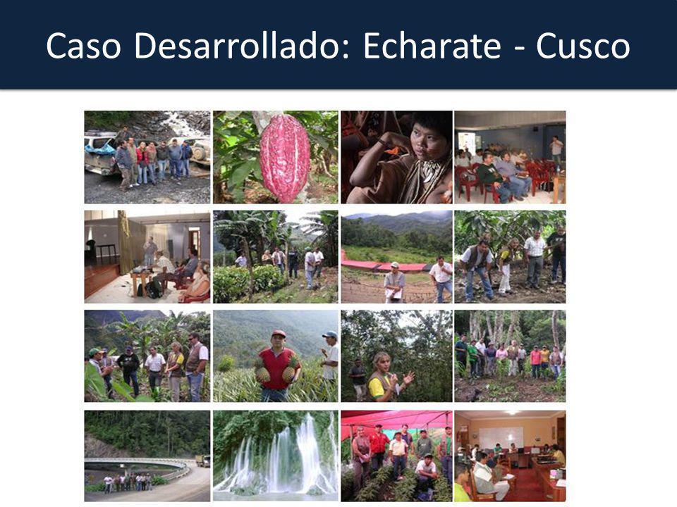 Caso Desarrollado: Echarate - Cusco