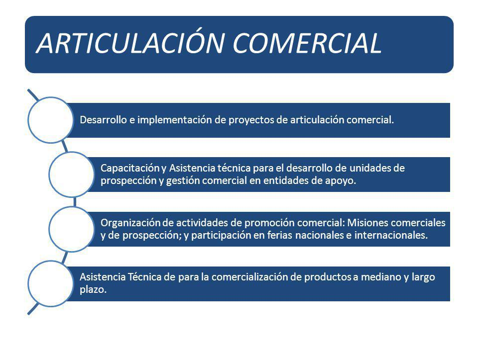 ARTICULACIÓN COMERCIAL