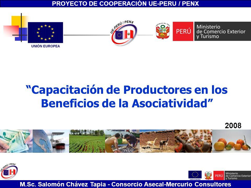 Capacitación de Productores en los Beneficios de la Asociatividad