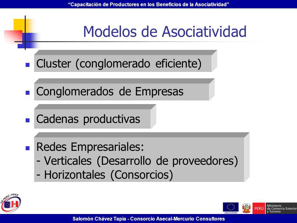 Modelos de Asociatividad