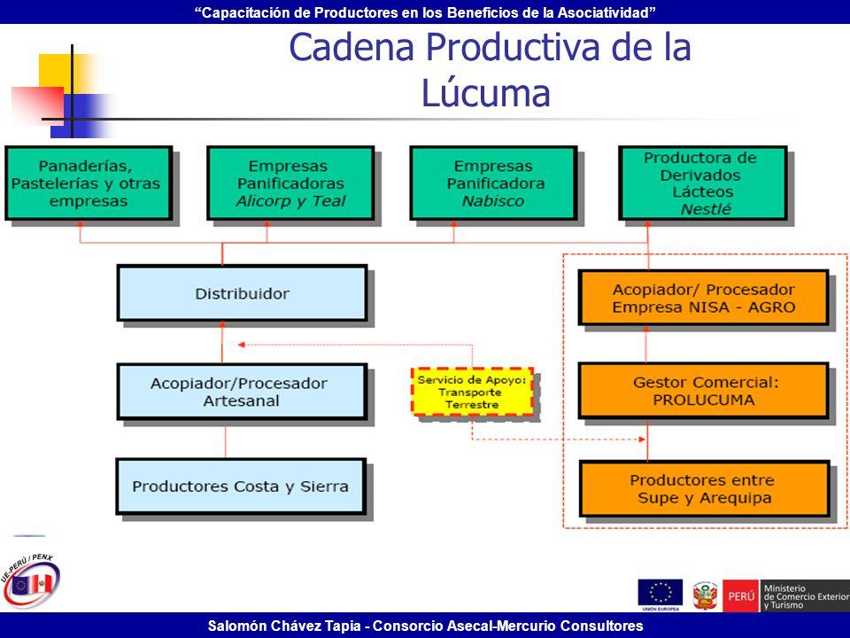 Cadena Productiva de la Lúcuma