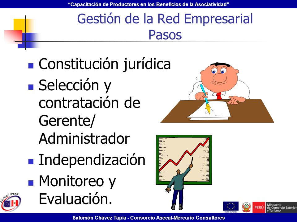 Gestión de la Red Empresarial Pasos