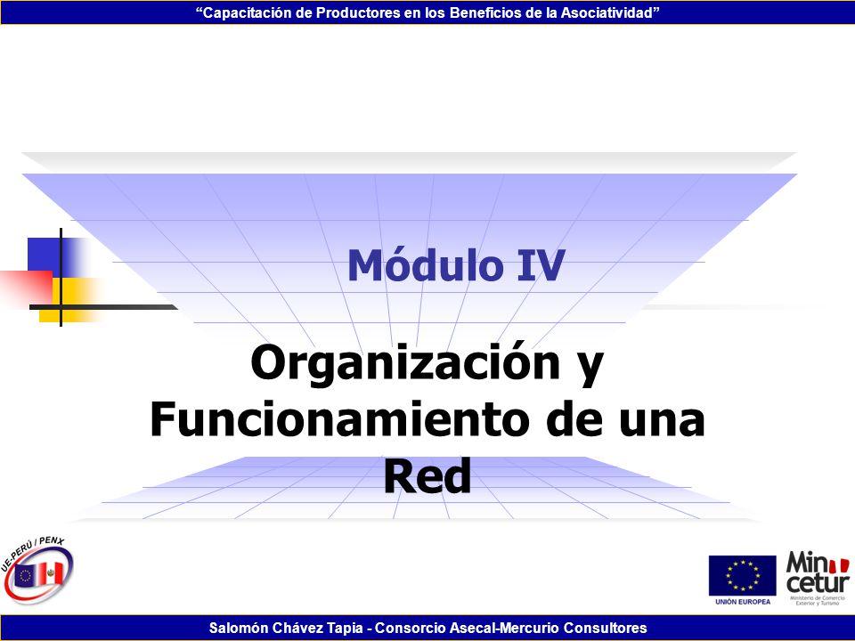 Organización y Funcionamiento de una Red