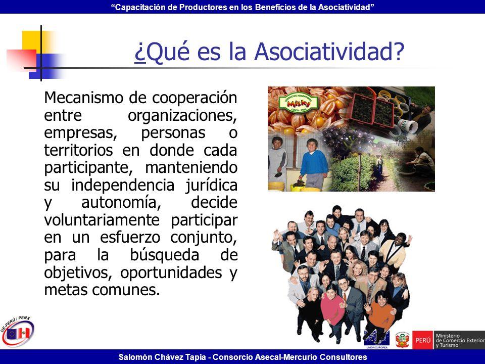 ¿Qué es la Asociatividad