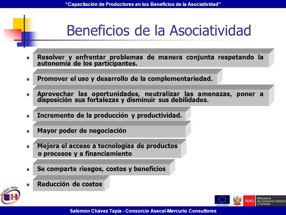 Beneficios de la Asociatividad