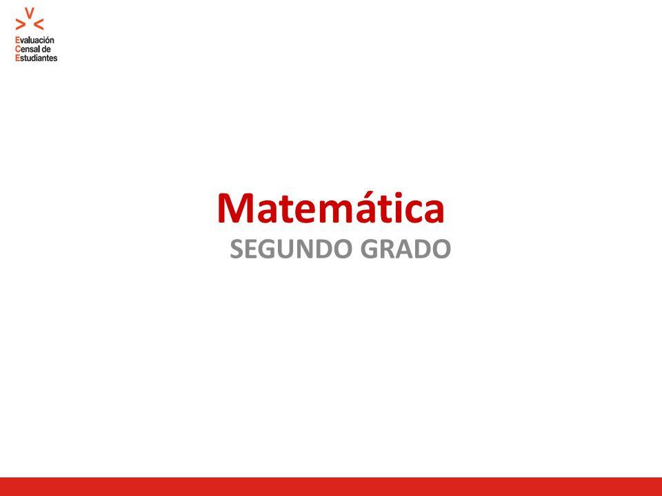 Matemática SEGUNDO GRADO