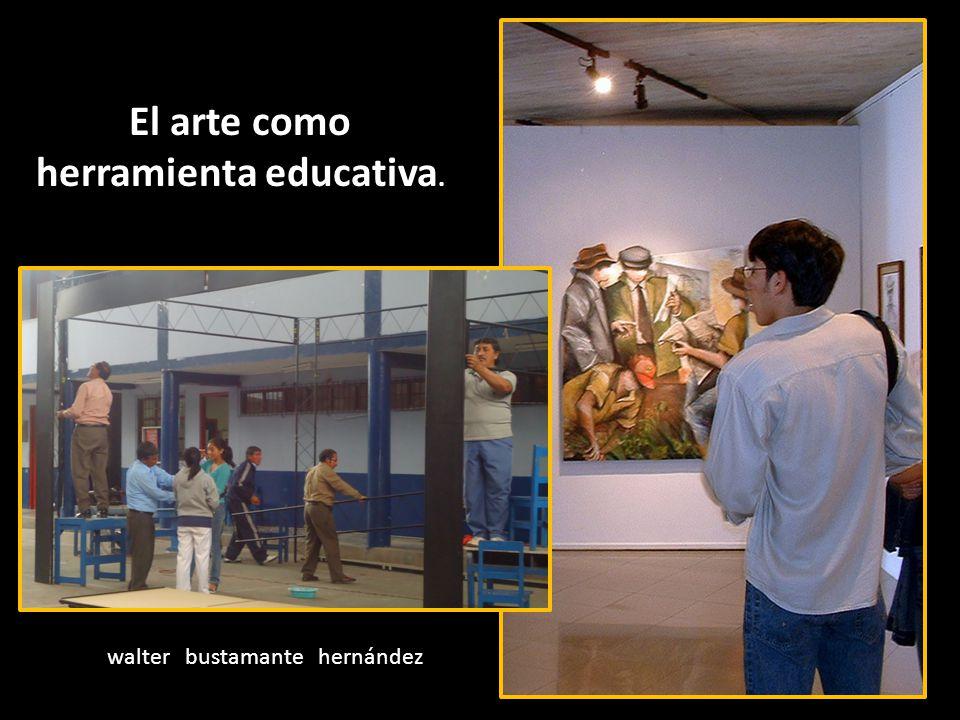 El arte como herramienta educativa.