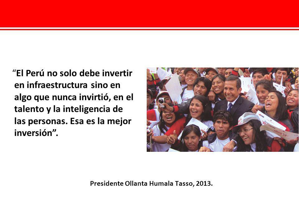 Presidente Ollanta Humala Tasso, 2013.