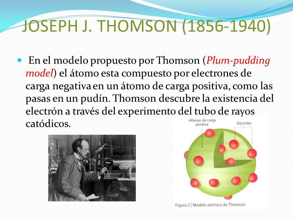 JOSEPH J. THOMSON (1856-1940)