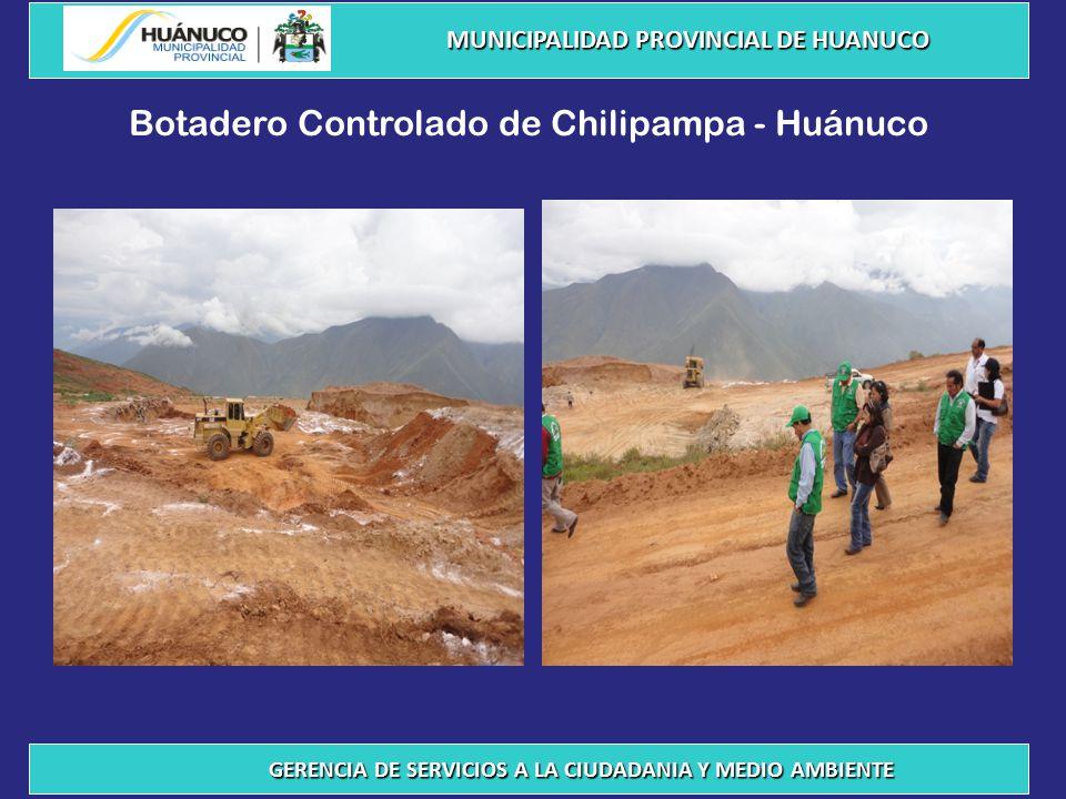 Botadero Controlado de Chilipampa - Huánuco