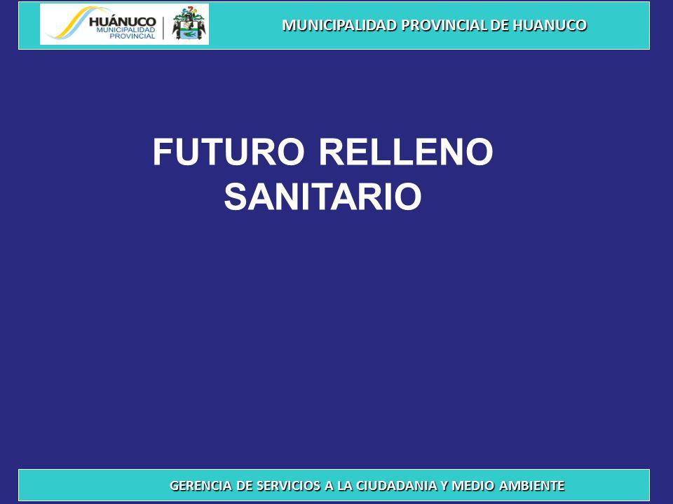 FUTURO RELLENO SANITARIO