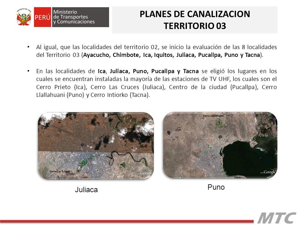 PLANES DE CANALIZACION