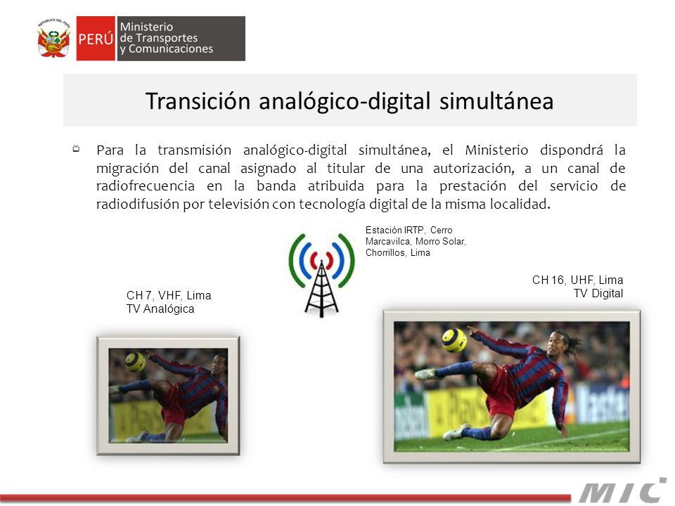 Transición analógico-digital simultánea