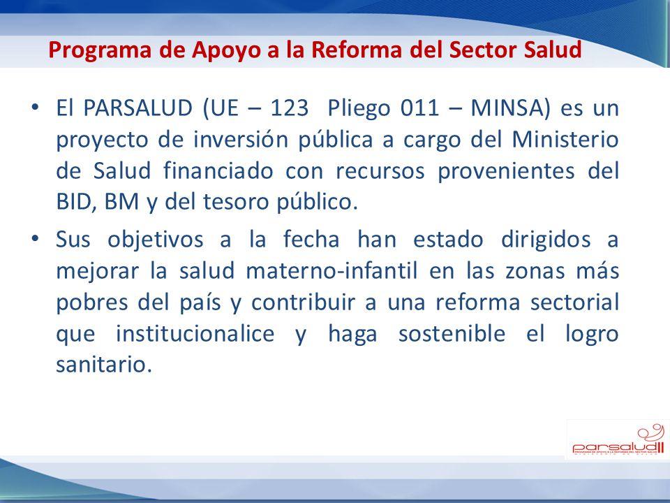 Programa de Apoyo a la Reforma del Sector Salud