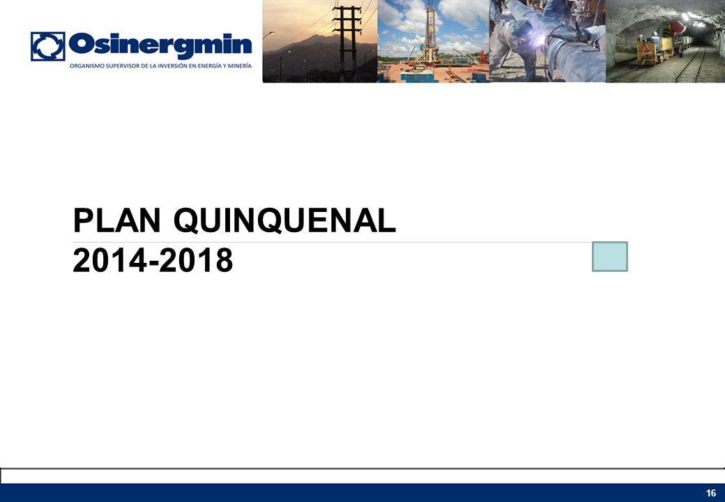 PLAN QUINQUENAL 2014-2018
