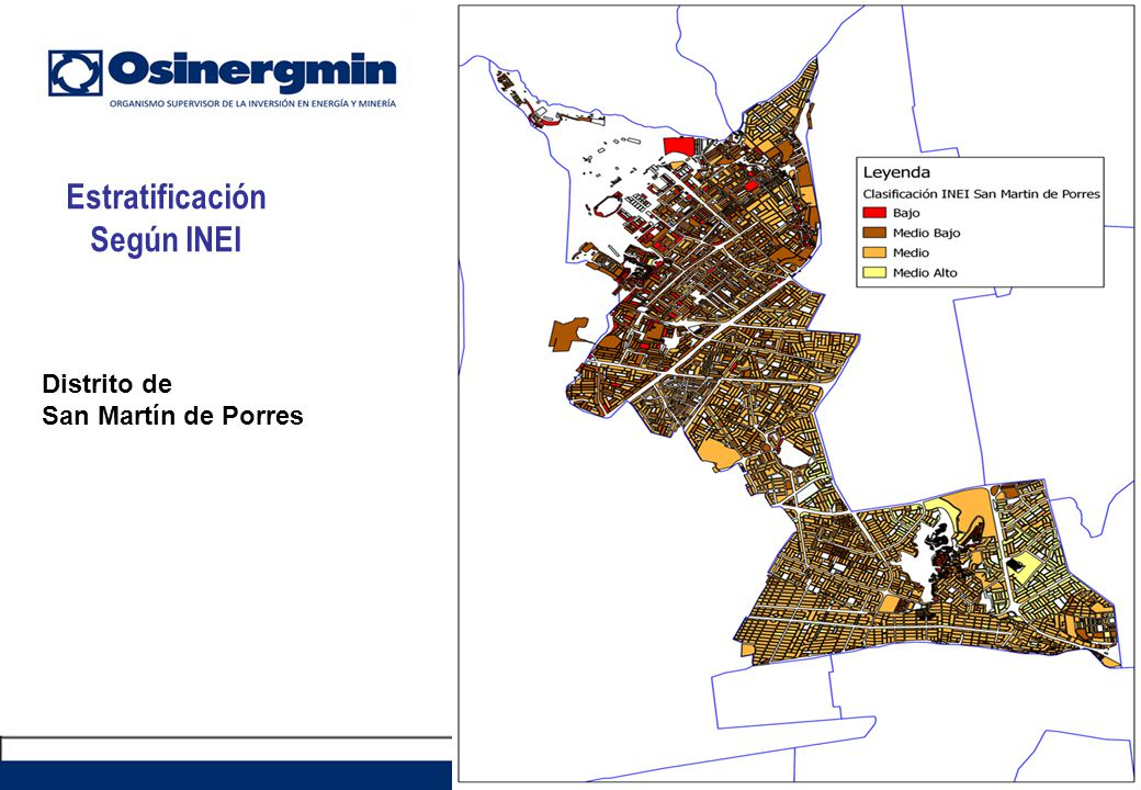 Estratificación Según INEI
