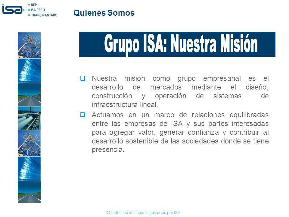 Grupo ISA: Nuestra Misión