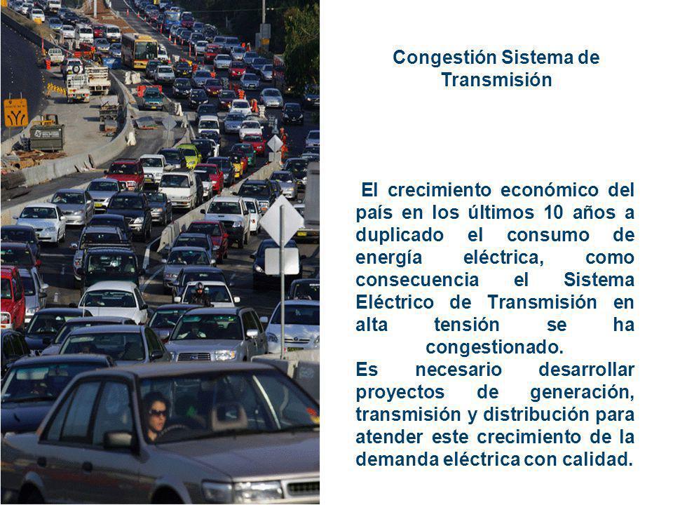 Congestión Sistema de Transmisión